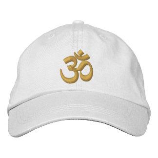 Boné Bordado O ouro de Chakra da ioga de OM ou personaliza-o