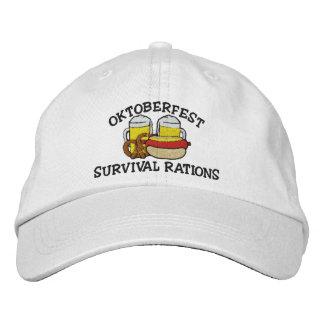 Boné bordado Oktoberfest engraçado