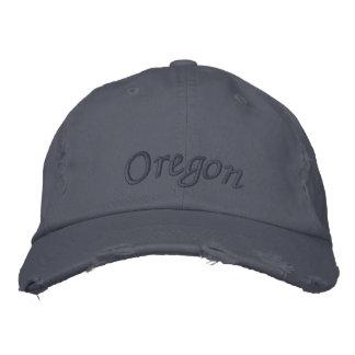 Boné Bordado Oregon bordou o chapéu