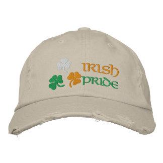 Boné Bordado Orgulho do irlandês dos trevos