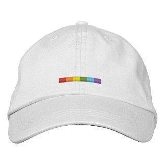Boné bordado orgulho gay