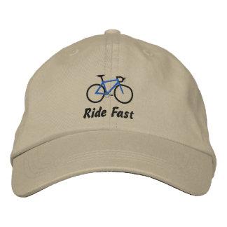 Boné Bordado Passeio rápido - bicicleta da estrada