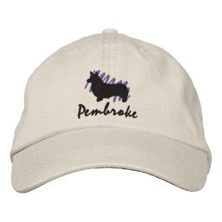 Boné Bordado Pembroke Scribbled