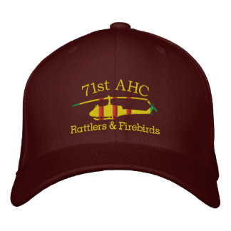 Boné Bordado Personalizou seu chapéu bordado UH1 de Vietnam da