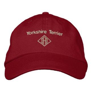 Boné Bordado Presentes do pai do yorkshire terrier