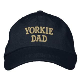 Boné Bordado Presentes do yorkshire terrier do PAI de Yorkie