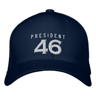 Boné Bordado Presidente 46 chapéu - marinho