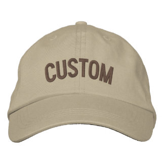 Boné Bordado Projete seu próprio chapéu bordado