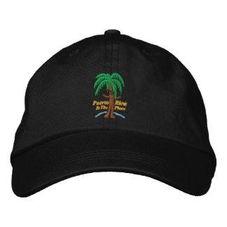 Boné Bordado Puerto Rico é o chapéu bordado lugar