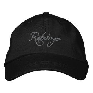 Boné Bordado Ratzinger Baseballcap black