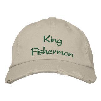 Boné Bordado Rei Pescador