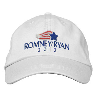 Boné Bordado Romney/chapéu bordado luz de Ryan 2012