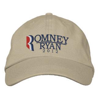 Boné Bordado Romney/letra R de Ryan 2012 ilumina o chapéu