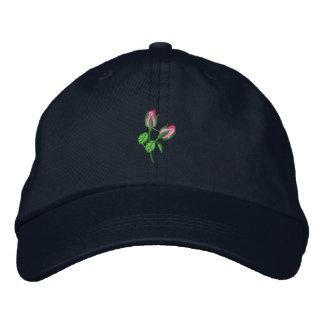 Boné Bordado Rosebuds