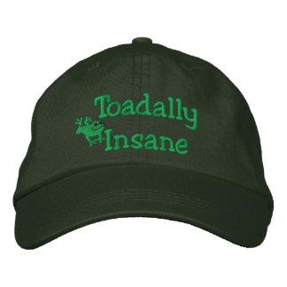 Boné Bordado Sapo engraçado chapéu bordado