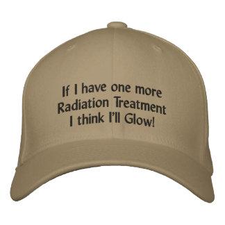 Boné Bordado Se eu tenho um mais tratamento de radiação mim
