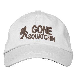 Boné Bordado Squatchin ido