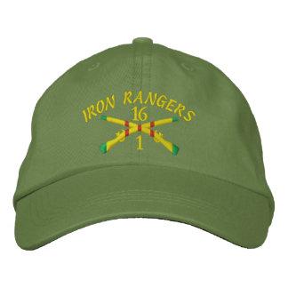 Boné Bordado Sua unidade Vietnam cruzou o chapéu bordado rifles