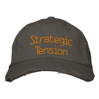 Boné Bordado Tensão estratégica