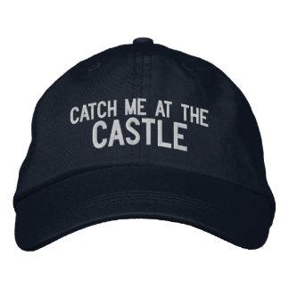 Boné Bordado Trave-me no chapéu do castelo