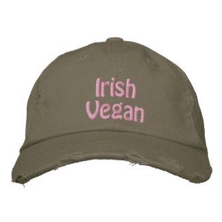 Boné Bordado Vegan irlandês, o dia de St Patrick, verde