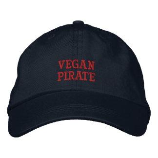 Boné Bordado Vegan Pirate Cap