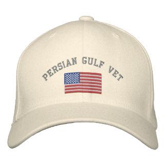Boné Bordado Veterinário do Golfo Pérsico com bandeira