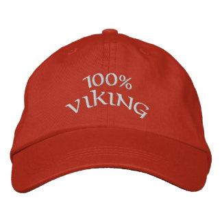 Boné Bordado viquingue 100%