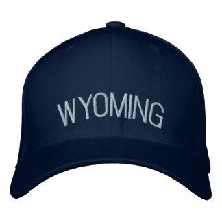 Boné Bordado Wyoming bordou o chapéu