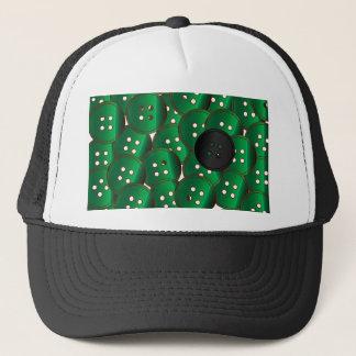 Boné Botões verdes