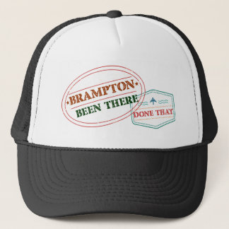 Boné Brampton feito lá isso