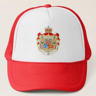 Boné Brasão real dinamarquesa do vintage de Dinamarca