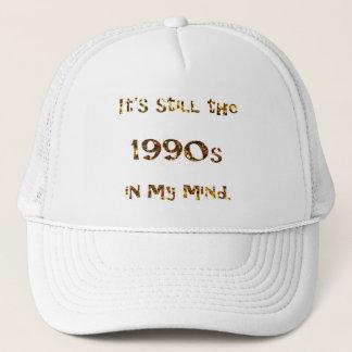 Boné brilho do ouro da nostalgia dos anos 90