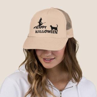 Boné bruxa do Dia das Bruxas e chapéu felizes do