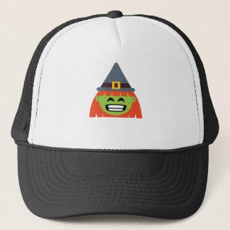 Boné bruxa todo o Emoji o Dia das Bruxas