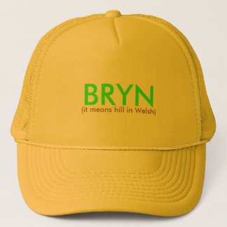 Boné BRYN, (significa o monte em Galês)
