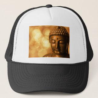 Boné Buddha dourado