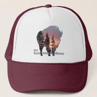 Boné Búfalo do chapéu do camionista do vintage