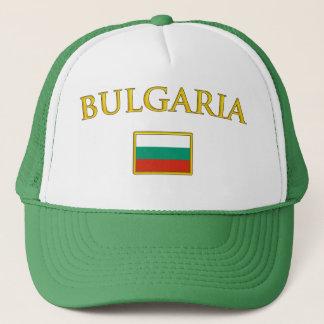 Boné Bulgária dourada