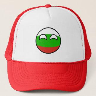 Boné Bulgária Geeky de tensão engraçada Countryball