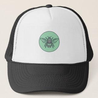 Boné Bumble linha do círculo da abelha a mono