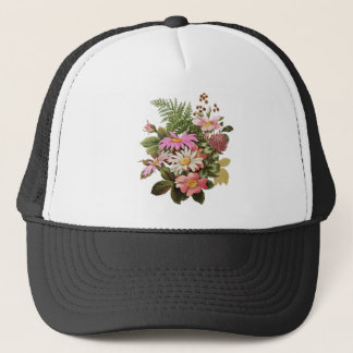 Boné buquê da flor