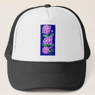 Boné Buquê do WC dos rosas
