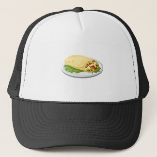 Boné Burrito amável do breakfurst da comida do pulso