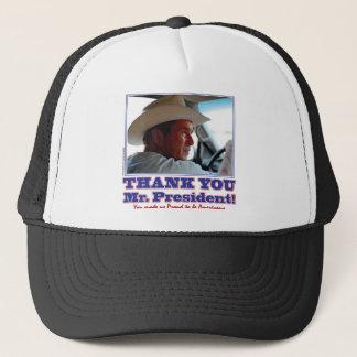 Boné Bush-Obrigado-Você-Americano