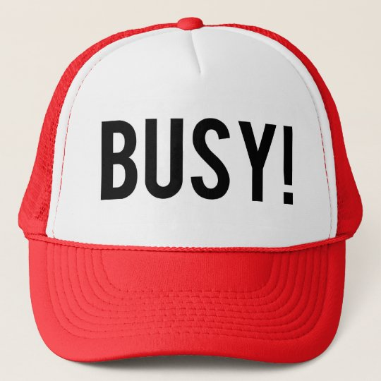 Boné Busy cap