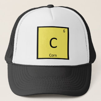 Boné C - Símbolo vegetal da mesa periódica da química