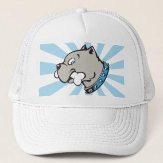 Boné Cabeça de Pitbull dos desenhos animados - chapéu