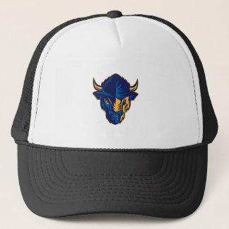 Boné Cabeça do bisonte americano retro