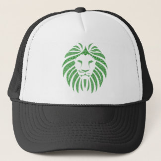 Boné Cabeça verde do leão